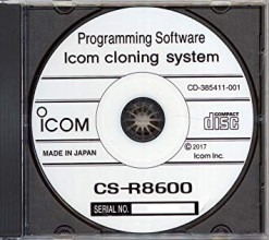 CS-R8600 cloning software voor IC-R8600