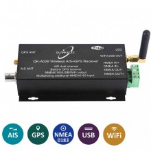 QUARK-ELEC QK-A026 AIS RECEIVER WITH MULTIPLEX + WIFI + GPS