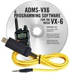 ADMS-VX6 Programming Software and USB-57B cable for the Yaesu VX-6
