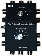 6 way coax antenna/transceiver switch 1.8-30 MHz
