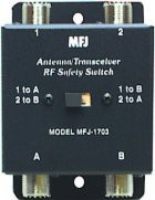 ANT/TRANSMITTER CROSSOVER SWITCH