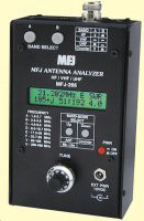 HF/VHF/UHF digital SWR analyser with digital reado