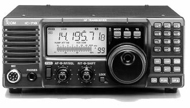 IC-718 HF All Mode Transceiver